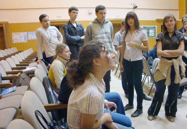 Студенты первой школы БиоН